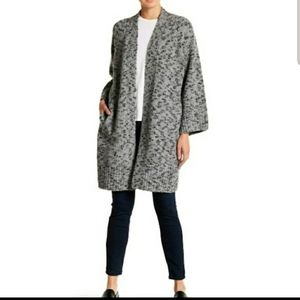 Vince Cardigan Small Duster Robe Wool Cashmere